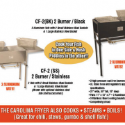Carolina 2 burner Fryer
