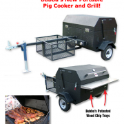 Bubba's Protable Pig Cooker and Grill